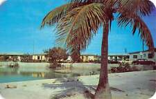Key West Florida Hilton Haven Motel Waterfront Vintage Postcard K64138