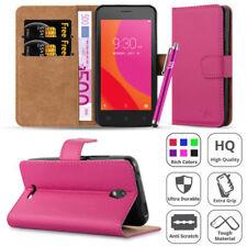 Fundas y carcasas color principal rosa de piel sintética para teléfonos móviles y PDAs Lenovo