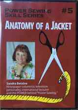 Power Sewing Skill Series #5 ~ Anatomy of a Jacket DVD ~Sandra Betzina
