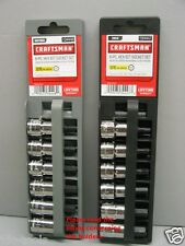 Craftsman 12 Piece 3/8 Drive SAE/MM Hex Bit Socket Set - **New^*