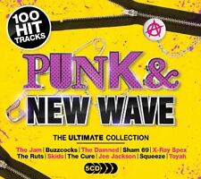 PUNK & NEW WAVE 5CDS CONTAINING 5 CD NEW!