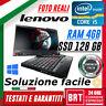 "PC NOTEBOOK LENOVO THINKPAD X220 TABLET 12"" CPU I5 2gen 4GB RAM SSD 128GB TOUCH"