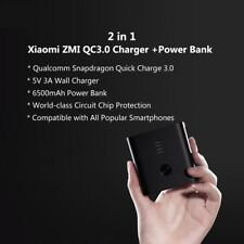 ZMI Power Bank Dual USB Wall Charger Quick Charge QC 3.0 External Hybrid Battery