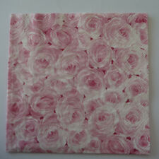 Ideal Home Range 20 Servilletas Rose Garden Rosa Rosas Rosa 33x33cm