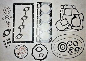 Kubota / Bobcat Full Gasket Set, With Head Gasket Kit 16394-03310 for V1505
