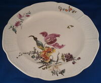 Antique 18thC Early Frankenthal Porcelain Floral Plate Porzellan Teller German
