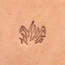 Tall Field of  Grass Leather Craft Stamp F113