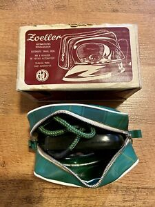 Vintage 1958 Automatic Travel Iron In Original Box Made In Western Germany