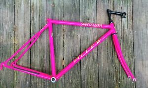 Specialized Allez Transition Frame, steel, hot pink, Size Small, excellent shape