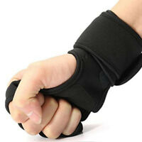 Men / Women Fitness Gloves Weight Lifting Gym Workout Training Wrist Wrap Strap