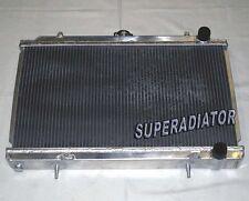 2 ROW Aluminum Radiator fit for 1995-1998 Nissan Silvia 240SX S14 2.4L KA24 MT