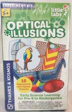 Optical Illusions Little Labs Thames & Kosmos Science Experiment Kit Educational