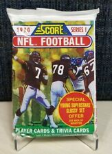 1990 Score Series 1 Football Cards - Unopened Pack