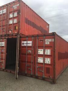 Solid Second Hand 20FT Shipping Containers - Cargo Worthy - Best Price in Sydney