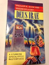 PHILIP K DICK & ROGER ZELAZNY @ DEUS IRAE rare 1988 Sphere UK VG COOL COVER!