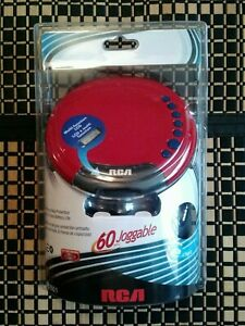 RCA RP2601 Personal Portable CD Player Joggable Skip Protection-NEW SEALED !!!