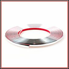 10 meter 12mm Chrome Car Styling Moulding Strip Trim Adhesive in roll