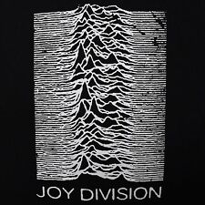 Joy Division band UP cover ***LARGE*** screen printed t-shirt Black punk retro