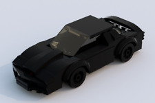 Custom Lego Knight Rider KITT - Minifigure Scale - Instructions Only