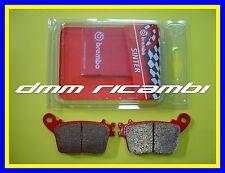 Pastiglie freno posteriori BREMBO SP HONDA HORNET 600 07>08 rosse CB F 2007 2008