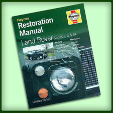 LAND ROVER SERIES 1/2/3 - Haynes Restoration Manual (DA3041)