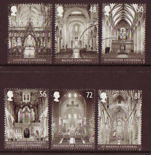 GREAT BRITAIN 2008 CATHEDRALS SET OF 6 FINE USED
