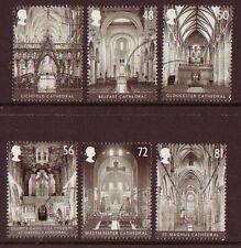 Gran Bretaña 2008 Catedrales Set De 6 Fine Used