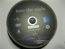 INTO THE NIGHT starring Jeff Goldblum, Michelle Pfeiffer  {DVD}