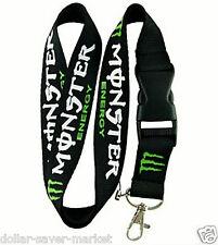 Monster  Lanyard ID Holder Keychain cell phone Motocross Skate BMX SURF WAKE MTB
