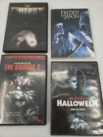 Horror DVD 4-Disc Bundle-Halloween Freddy and Jason Blair Witch Project Grudge 2