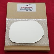 Mirror Glass + Adhesive For 04-06 Scion Xb Driver Side Replacement