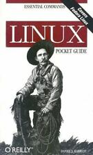 Linux Pocket Guide by Daniel J. Barrett (2004, Paperback) Essential Commands