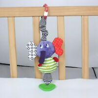 Cute Music Elephant Bell Rattles Toy Safety Baby Soft Plush Toys Funny Vintage