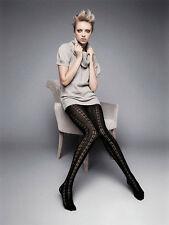 Nur handwäschegeeignete blickdichte Damen-Strumpfhosen ohne Muster mit Strümpfe