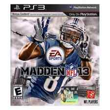 Madden NFL 13 (Sony PlayStation 3, 2012) PS3- Perfect Condition! Calvin Johnson