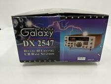 Galaxy DX-2547 Deluxe 40 Channel CB Base Station - SH2642