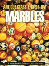 Antique Glass End of Day Marbles - A Book by Stanley Block. 899 Color Photes
