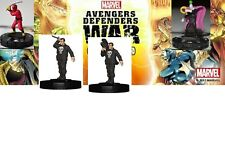 Heroclix Avengers/Defenders War #033 KIRIGI, 030 009 PUNISHER, 013 WHIPLASH