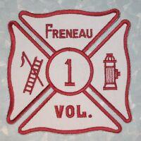 """Freneau Volunteer Fire Dept Patch -  New Jersey - 4"""" x 4"""""""