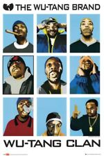 Wu Tang Clan Members Lineup 24x36 - Poster Hip-Hop Rap Wall Art Print Home Decor