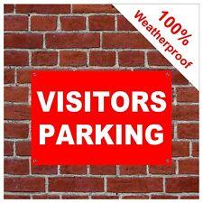 Visitors parking sign or sticker 9063