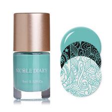 NICOLE DIARY 9ml Nail Art Stamping Polish Spring Series Varnish Nails DIY NDS04