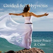 GUIDED SELF HYPNOSIS CD FOR INNER PEACE & CALM + RELAXATION BONUS TRACK