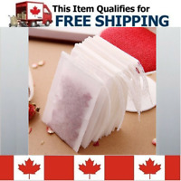 50 pcs Empty Loose Leaf or Herb Green Tea Bags Filter with String