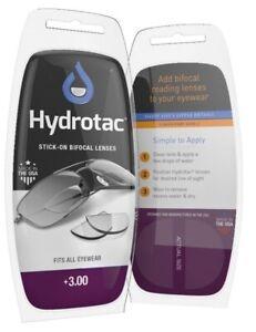 Neoptx - Hydrotac stick-on bifocal lenses (OPTX 20/20) +3.00