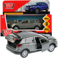 Nissan Qashqai Gray Diecast Metal Model Car Toy Die-cast Cars