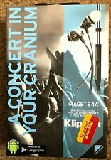 KLIPSCH IMAGE S4A ll IN-EAR NOISE ISOLATING IN-EAR NOISE ISOLATING HEADPHONES
