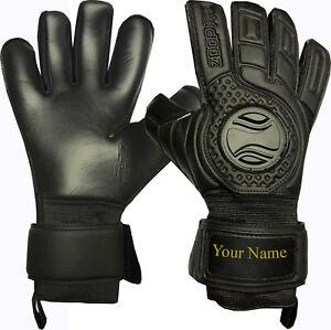 Zoop Pro High Quality Goalkeeper Hybrid Roll+Neg Finger Gloves Size 7/8/9/10/11.