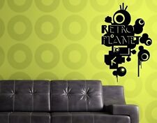 Retro Planet - Highest Quality Wall Decal Stickers