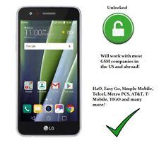 LG Risio 2 16GB Silver 5 inch Smartphone LTE UNLOCKED DESBLOQUEADO